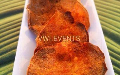 Chips de patate douce au piment bondamanjak